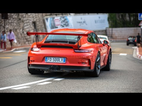 Porsche 991 GT3 RS - Accelerations & Driving in Monaco !