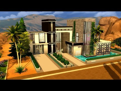 The Sims 4 || Speed Build || Millionaire's Row - California Modern Mansion
