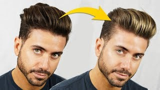 Should Men Get Hair Highlights? Men's Summer Highlights and Hairstyle 2019   Alex Costa