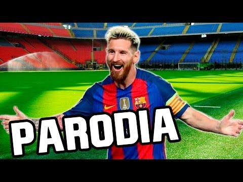 Canción de Messi (Parodia Let Me Love You - Justin Bieber)