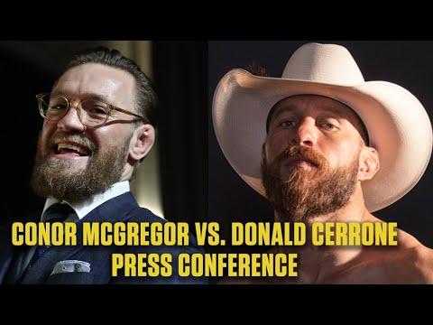 Conor McGregor Vs. Donald 'Cowboy' Cerrone: UFC 246 Press Conference