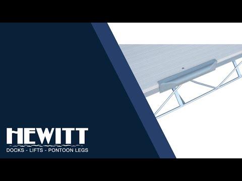 "18"" Dock Straight Bumper by Hewitt"