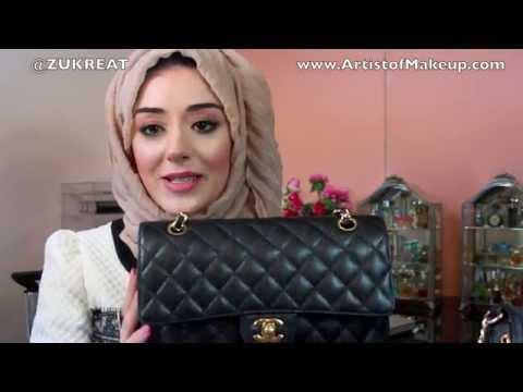 How I Organize  My Bags, Space Saving Tips! Chanel Caviar