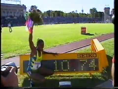 Women's 100m - Milano, Italy 1996 - Merlene Ottey 10.74