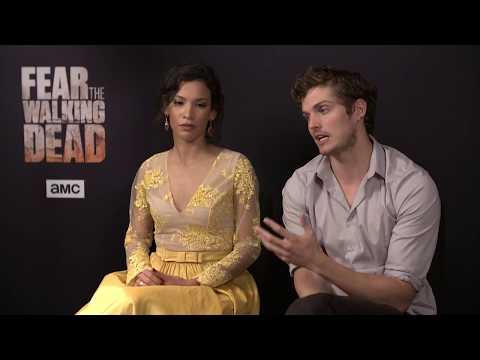 Danay Garcia & Daniel Sharman Talk 'FearTWD' Season 3