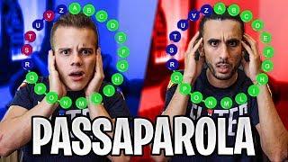 ⚽️ PASSAPAROLA con i CALCIATORI! | Enry Lazza vs Ohm - QUIZ SUL CALCIO
