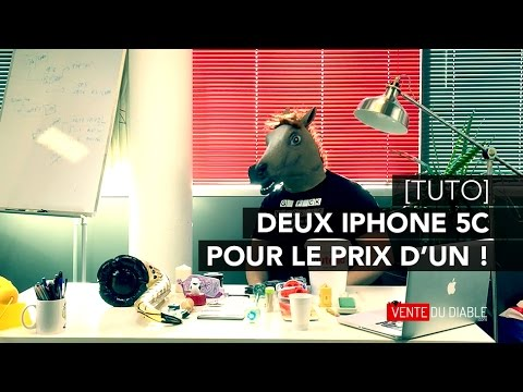 tuto deux iphone pour le prix d 39 un sur vente du diable youtube. Black Bedroom Furniture Sets. Home Design Ideas