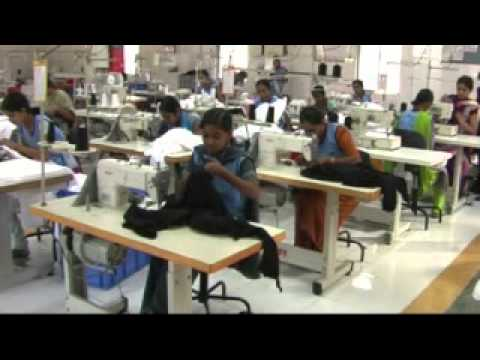 Clothes factory in india youtube for T shirt manufacturing machine in india