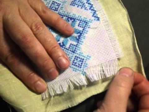Накладная канва: как вышивать на накладной канве - Рукоделие 96