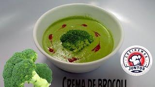 Receta de Crema de brocoli