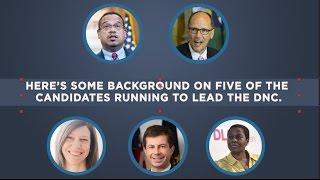 Five Candidates Running for DNC Chairman