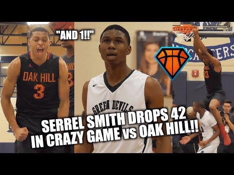 Serrel Smith DROPS 42 in HEATED Matchup vs Oak Hill!! But  Is It ENOUGH?! | ARS National Hoopfest