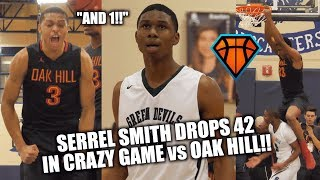 Video Serrel Smith DROPS 42 in HEATED Matchup vs Oak Hill!! But  Is It ENOUGH?! | ARS National Hoopfest download MP3, 3GP, MP4, WEBM, AVI, FLV Januari 2018