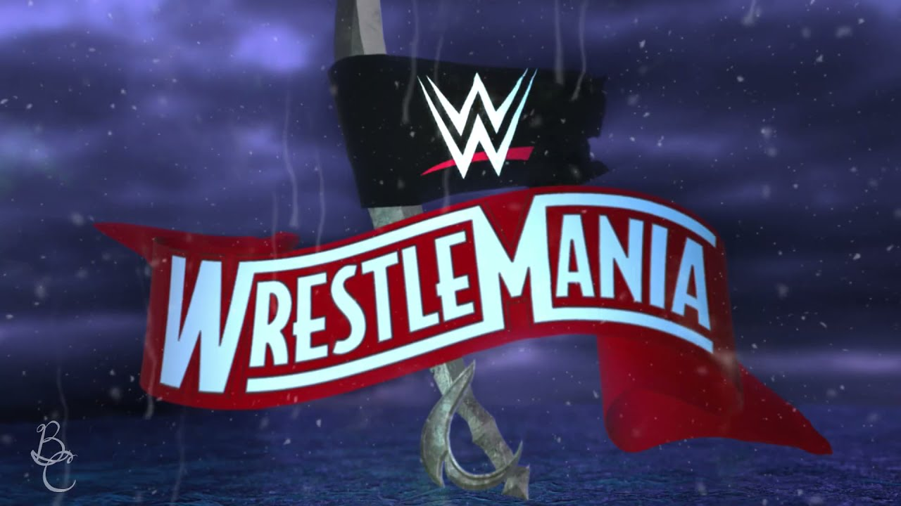 Download WrestleMania 38 Official Graphics Motion