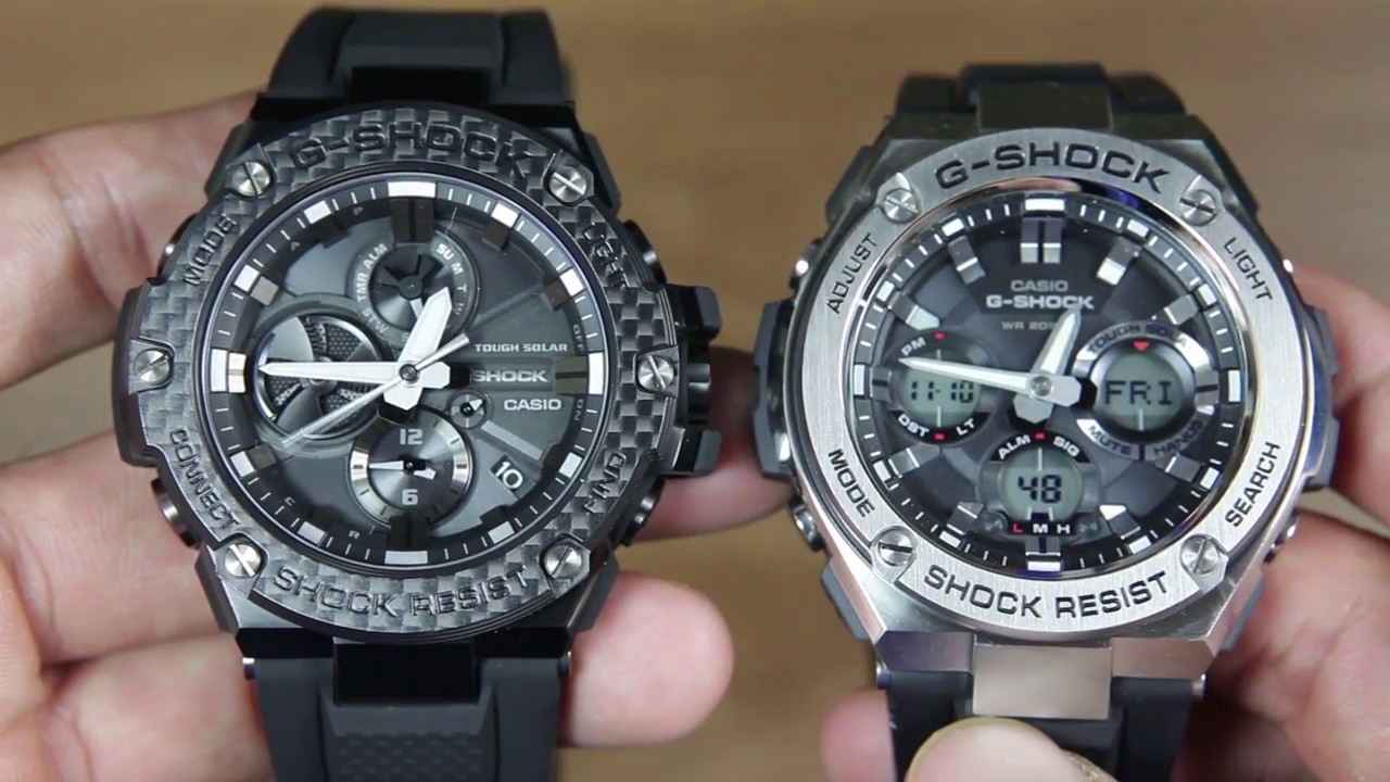 5f20728bc0b CASIO G-SHOCK G-STEEL GST-B100X-1A VS G-STEEL GST-S110-1A - YouTube