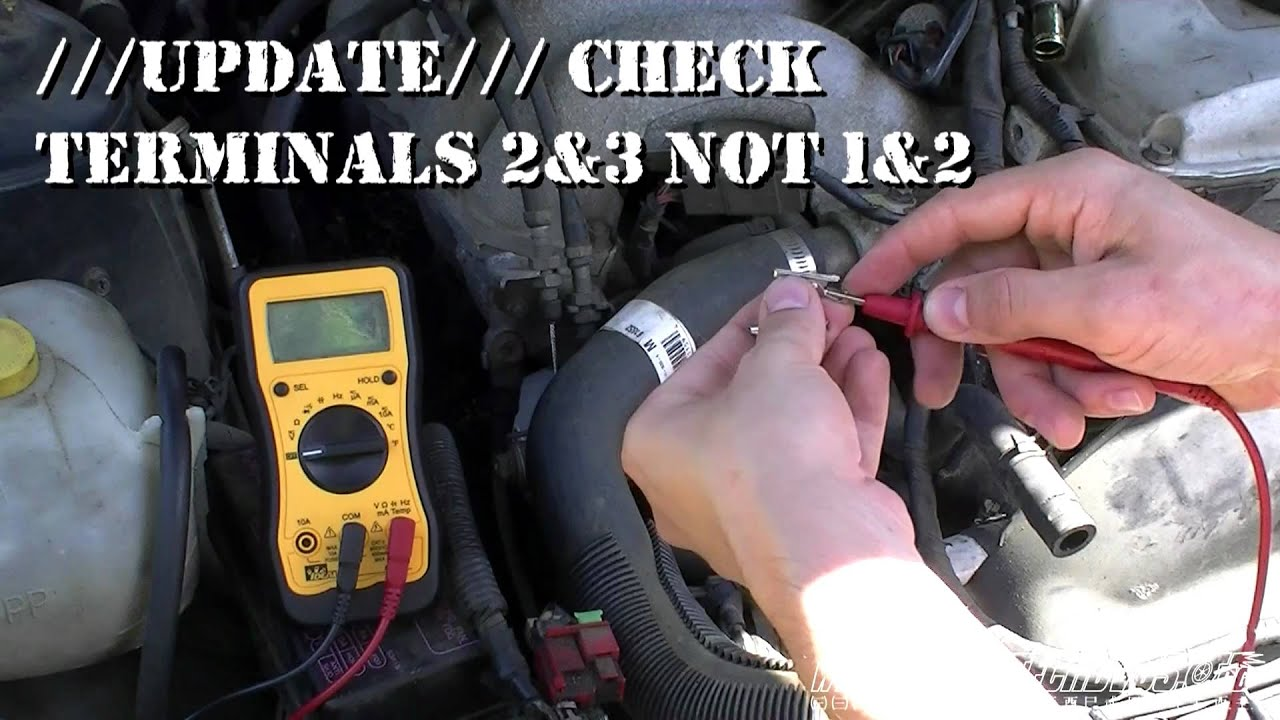 How to check the throttle position sensor VAZ-2114 97