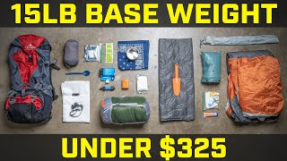 Budget Backpacking Gear for Beginners
