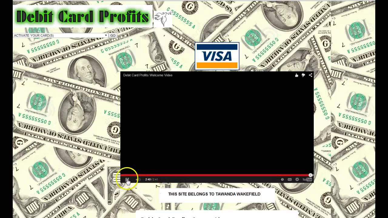 How to make money online with Debit Card Profits-No Credit Card or ...