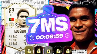 8M+ ON THE LINE!! FIRST OWNER EUSEBIO 7 MINUTE SQUAD BUILDER - FIFA 21 ULTIMATE TEAM