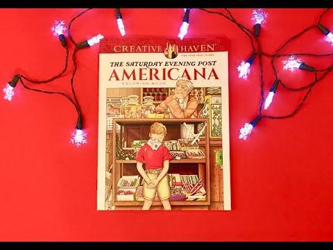 Flip Through-The Saturday Evening Post: Americana