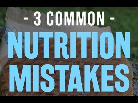 Avoid these 3 mistakes when trying to lose weight!