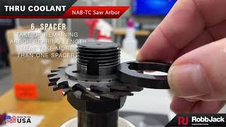Through-Coolant and ER-Style Saw Arbors Advance Productivity