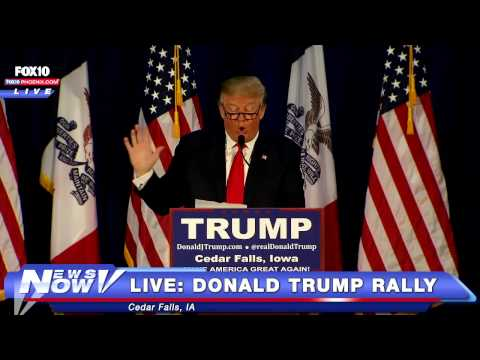 """FNN: Donald Trump Reads """"Snake"""" Poem To Syrian Refugees"""