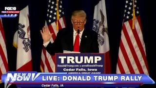 بالفيديو.. ترامب: اللاجئون السوريون 'أفاعى'.. وسأعيدهم إذا نجحت بالانتخابات