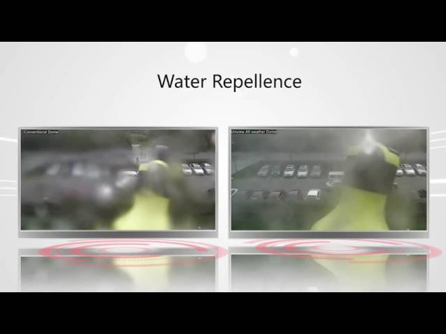 Uniview Product Feature-Water Repellence