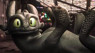 Toothless at Times Square Funny Clip - HOW TO TRAIN YOUR DRAGON 3 (2019)