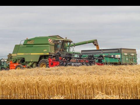 Moisson de blé 2015 - John Deere 2258 [SOUND]