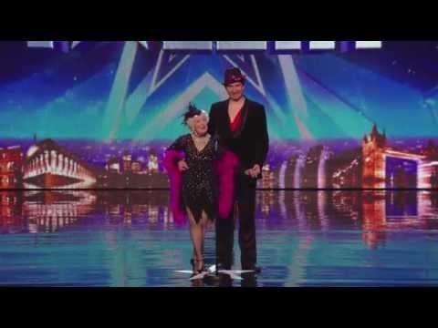 Spettacolare salsa di una ottantenne, MERAVIGLIA!!! - Britain's Got Talent 2014