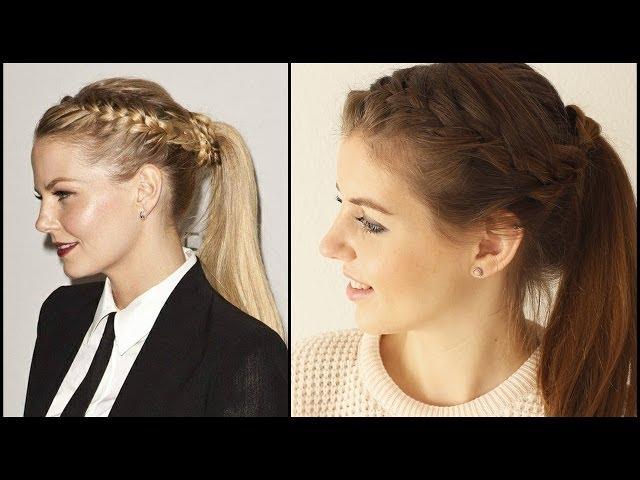 Langhaarfrisuren Mit Pony Festliche Frisur Frisuren Freitag Youtube