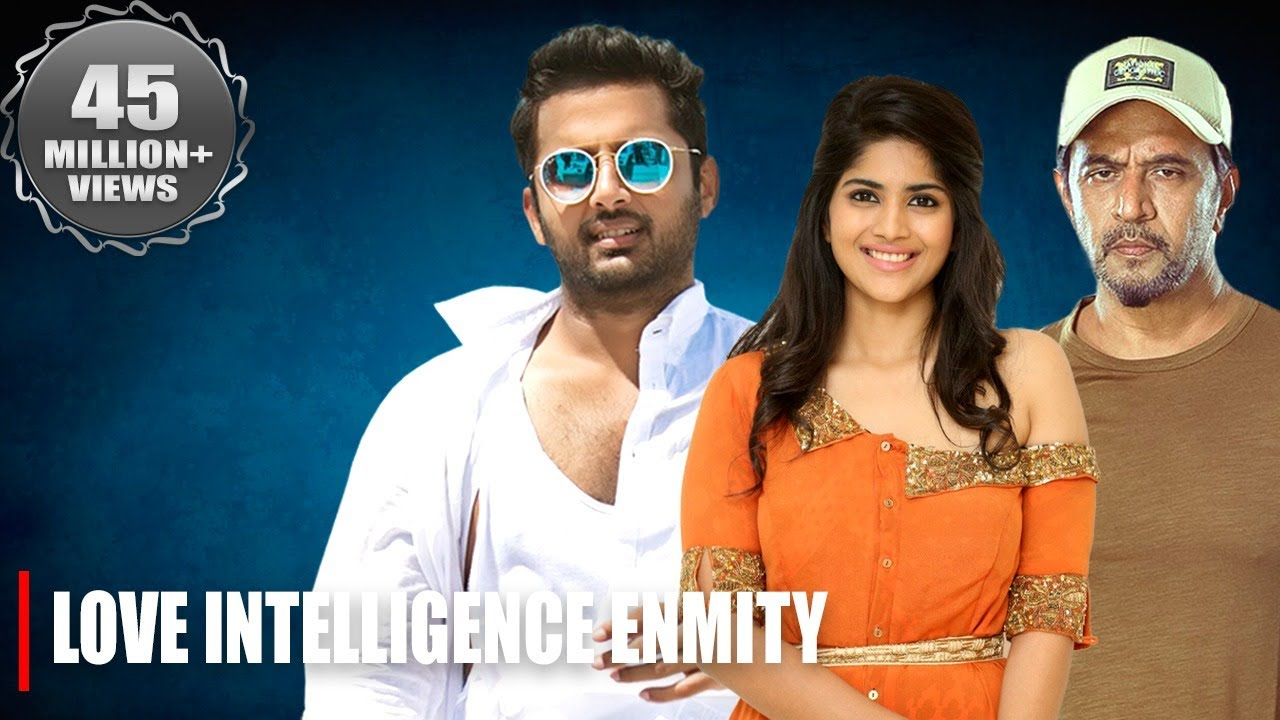 LOVE INTELLIGENCE ENMITY | NITIN NEW RELEASED Full Hindi Dubbed