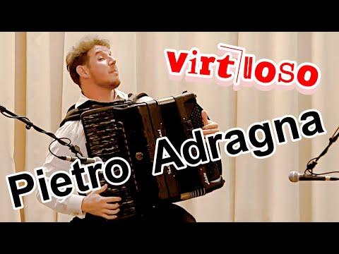 Итальянский аккордеонист-виртуоз Pietro Adragna в Новосибирске!