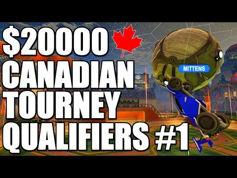 $20000 Canadian Tournament Qualifiers #1 | Semis - Grand Finals (Rocket League Gameplay)