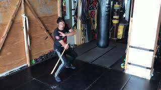 Sifu Tim - 8 count drill Filipino martial arts