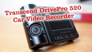 hD Transcend DrivePro 520 Dashcam Unboxing and Overview