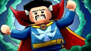 LEGO Marvel Super Heroes Co-op - Deadpool Levels 9, 10 & 11 (Stranger Danger / Bro-tunheim)