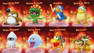 Mario Party 10 - All Boss Battles Complete Master Difficulty...