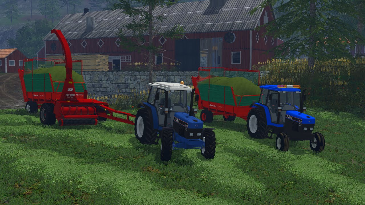 Grass Harvest In Norway JF Stoll And Ford FS YouTube - Norway map fs 15