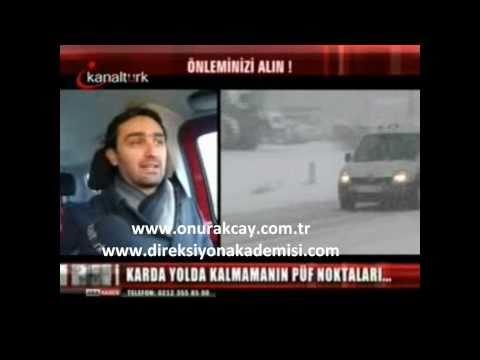 Ileri Sürüş Teknikleri Uzmanı Onur Akçay Kışın Otomobil Kullanmayı Anlatıyor