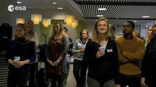 Norwegian students consider a career in space