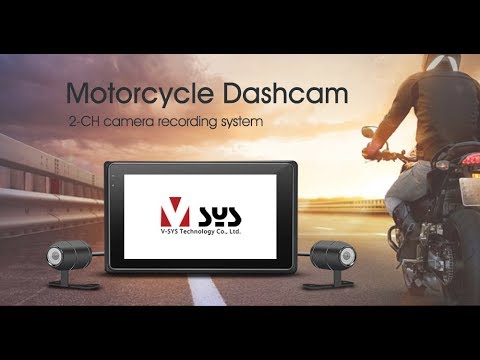VSYS Dual Motorcycle Dash Cam Installation Guide