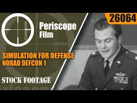 NORAD DEFCON 1SIMULATION FOR DEFENSEWAR GAMESCOLD WAR COMPUTERS 26064