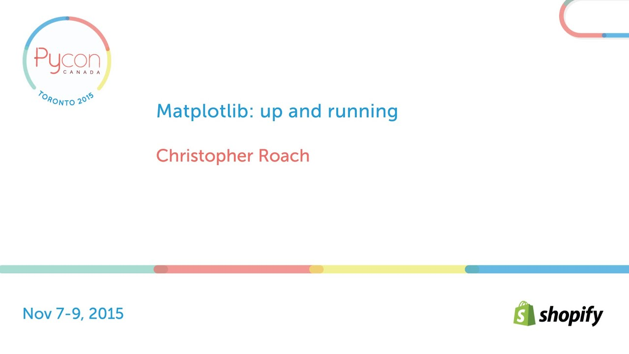 Image from Matplotlib: up and running