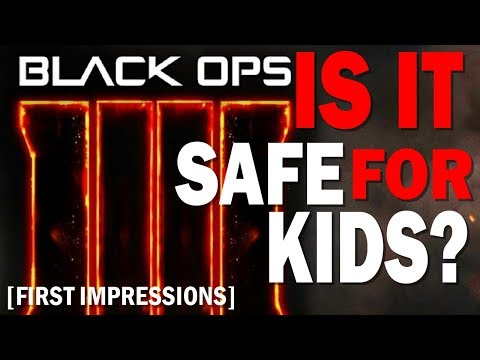 Black Ops 4 Is it Safe for Kids? Call of Duty Black Ops 4 Parents Guide and First Impressions