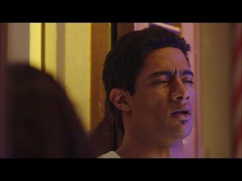 مشهد ناصر متأثر بعد موت رفاعي | مسلسل الاسطورة