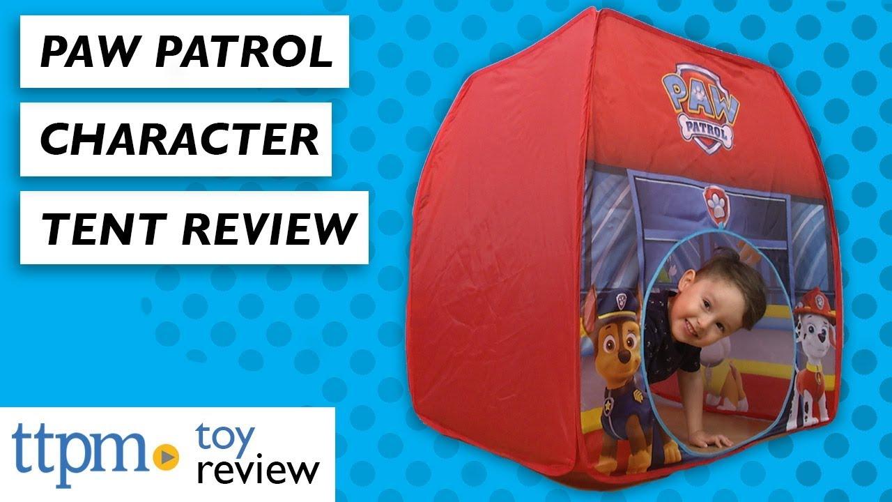huge discount b84b5 9c736 PAW Patrol Character Tent from Jakks Pacific