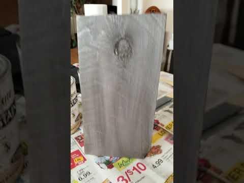 Make New Wood Look Old Part IIII